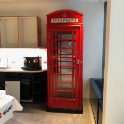 Cabine téléphonique Londonienne - 750kg
